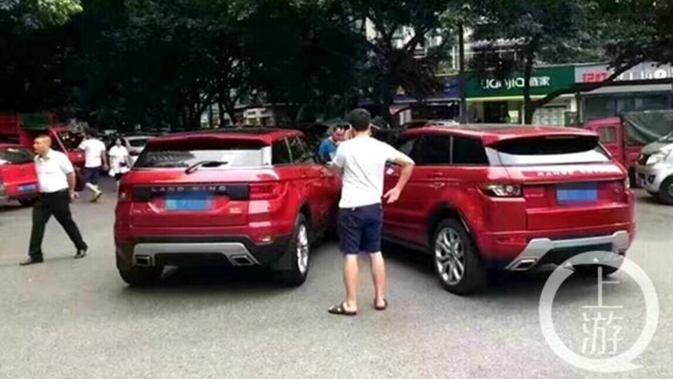 Виновником ДТП признан водитель поддельного Range Rover