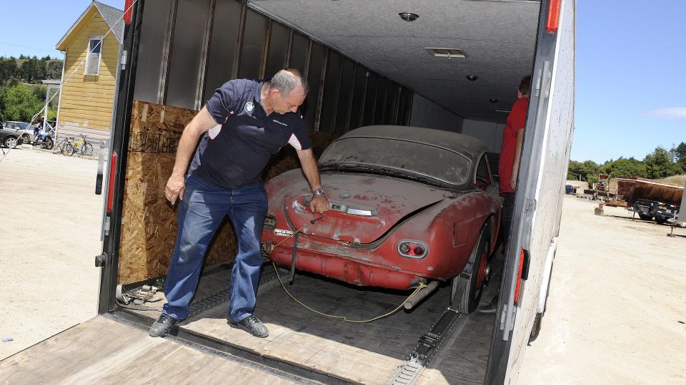 Реставрация уникальной машины длилась два года