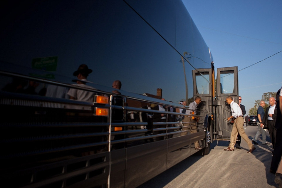 Изкаких машин состоит кортеж президента США. Фото 4