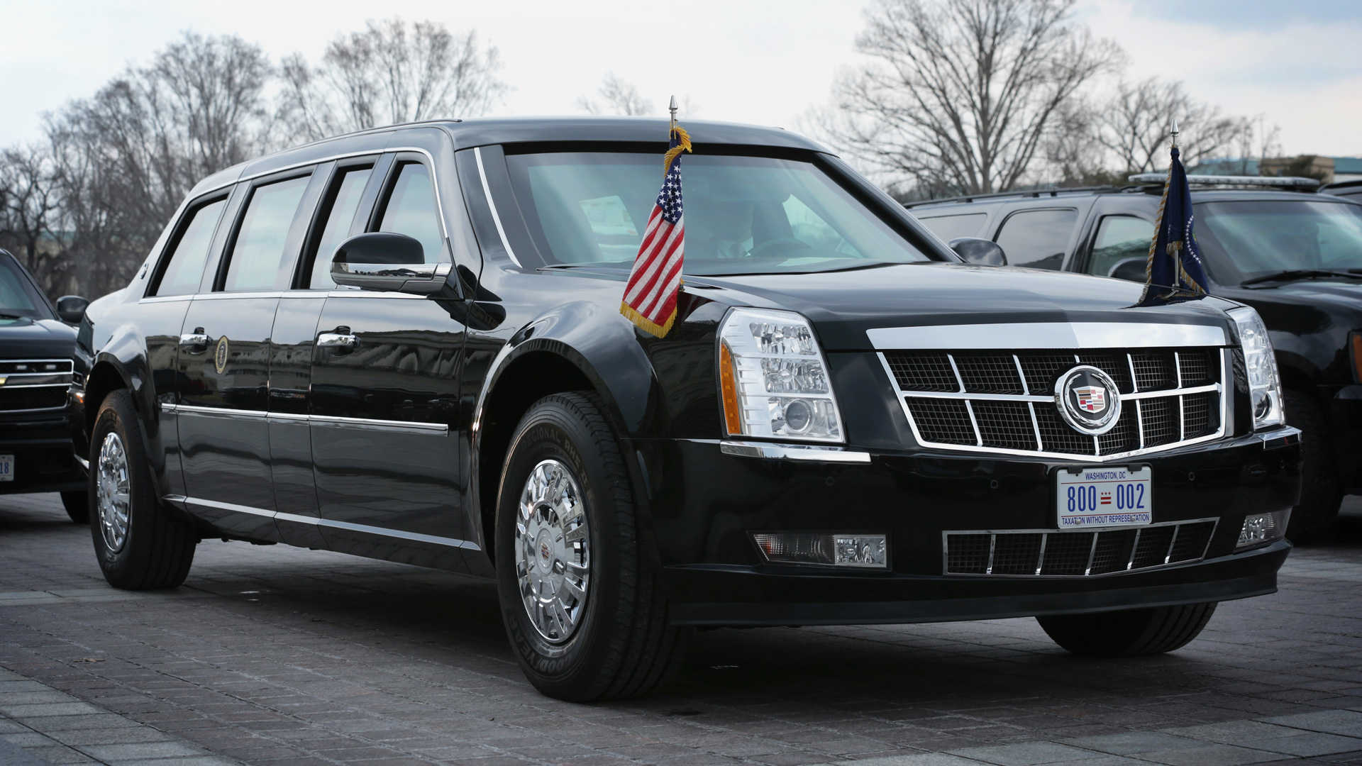 Изкаких машин состоит кортеж президента США. Фото 3