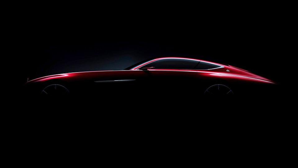 Mercedes покажет шикарное купе Maybach