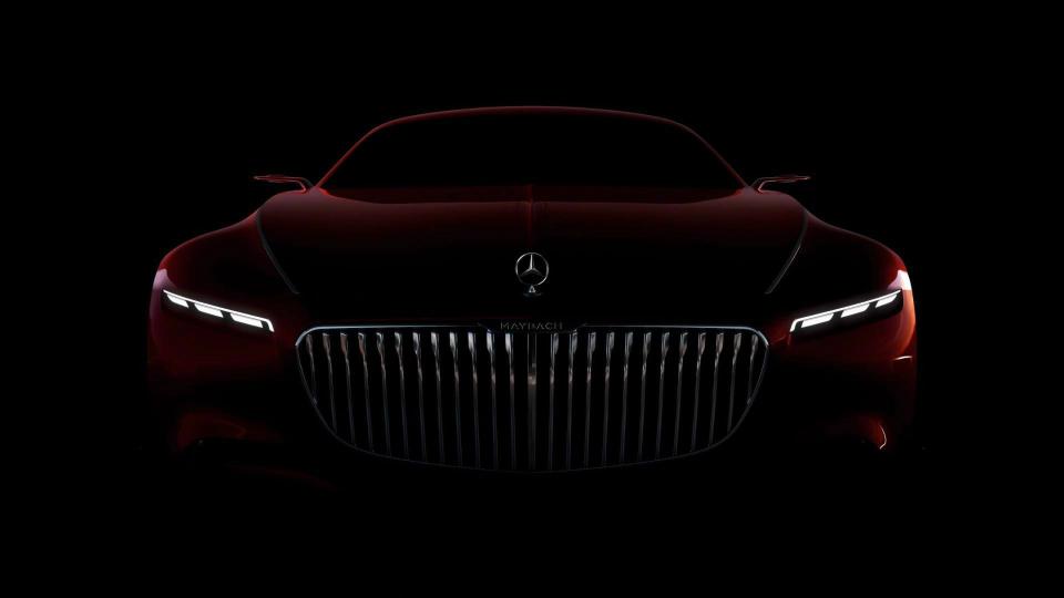 Концептуальное купе Vision Mercedes-Maybach 6 показали навидео