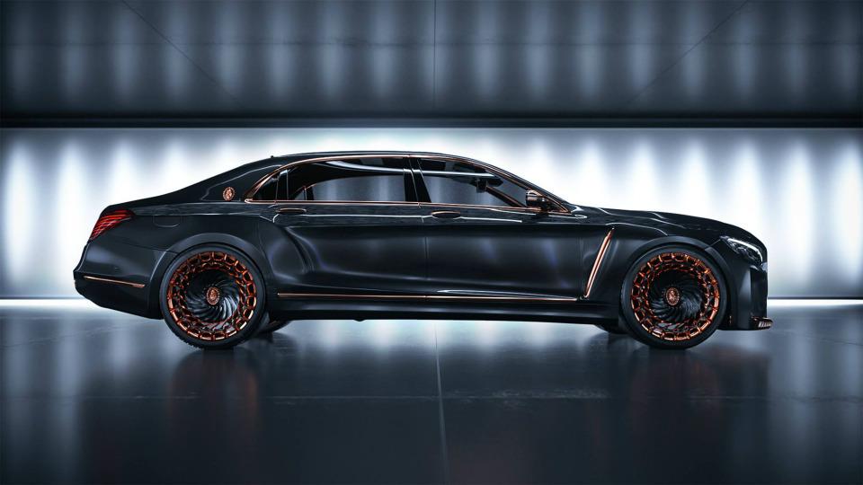 Канадцы превратили Mercedes-Maybach в«золотого Императора»