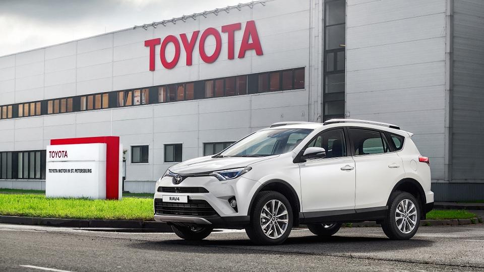 Тойота запустила производство модели RAV4 назаводе в северной столице