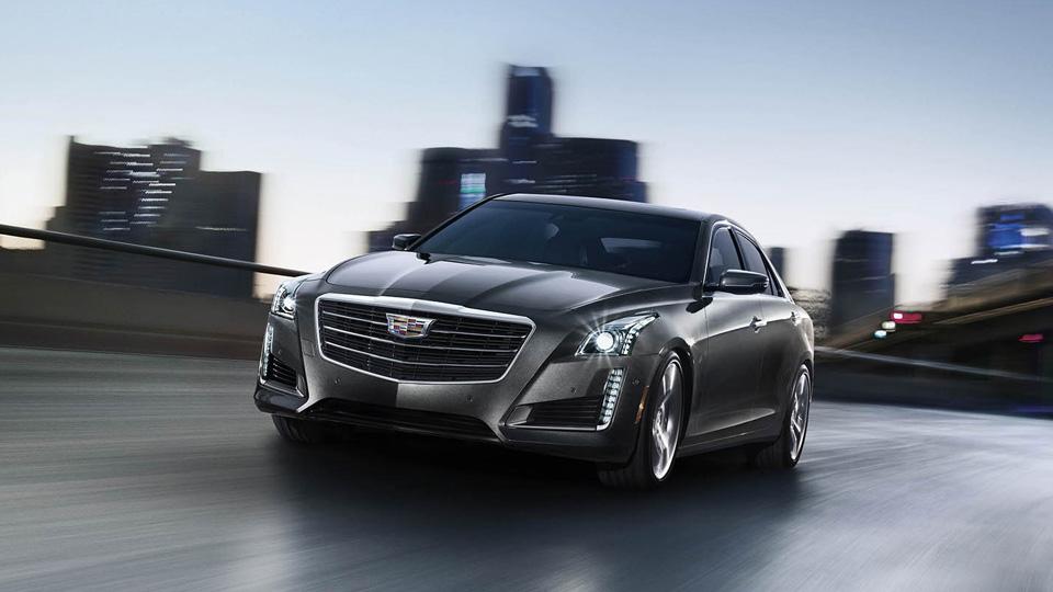 Cadillac привезет вРоссию седан CTS смотором V6