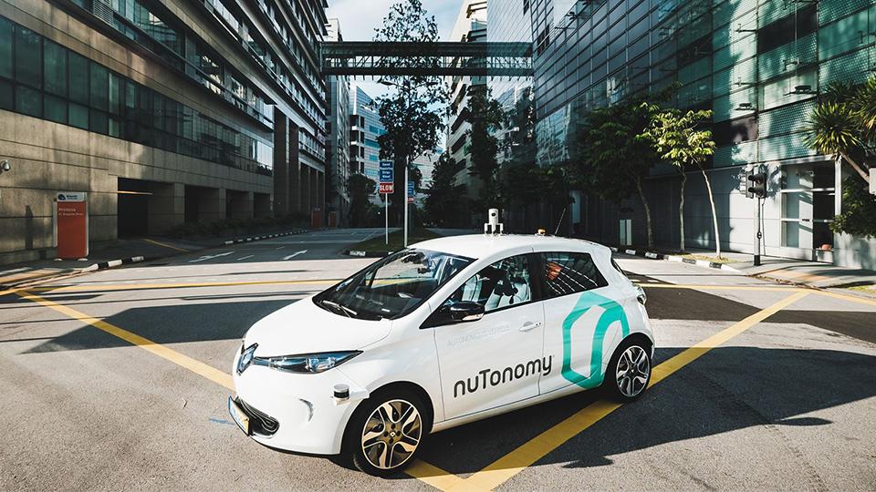 Электрокары-беспилотники приспособили для такси вСингапуре
