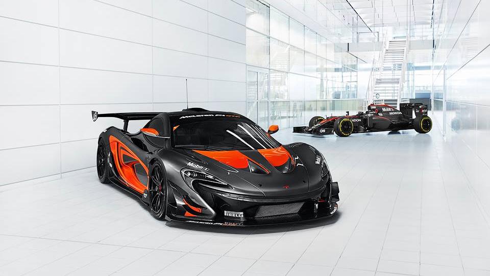 Трековый McLaren P1 GTR сделали встиле болида Формулы-1