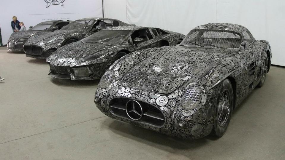 Поляки построили изавтохлама точные копии Bugatti иLamborghini