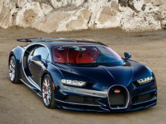 Гибридный Bugatti Chiron станет быстрее стандартного гиперкара