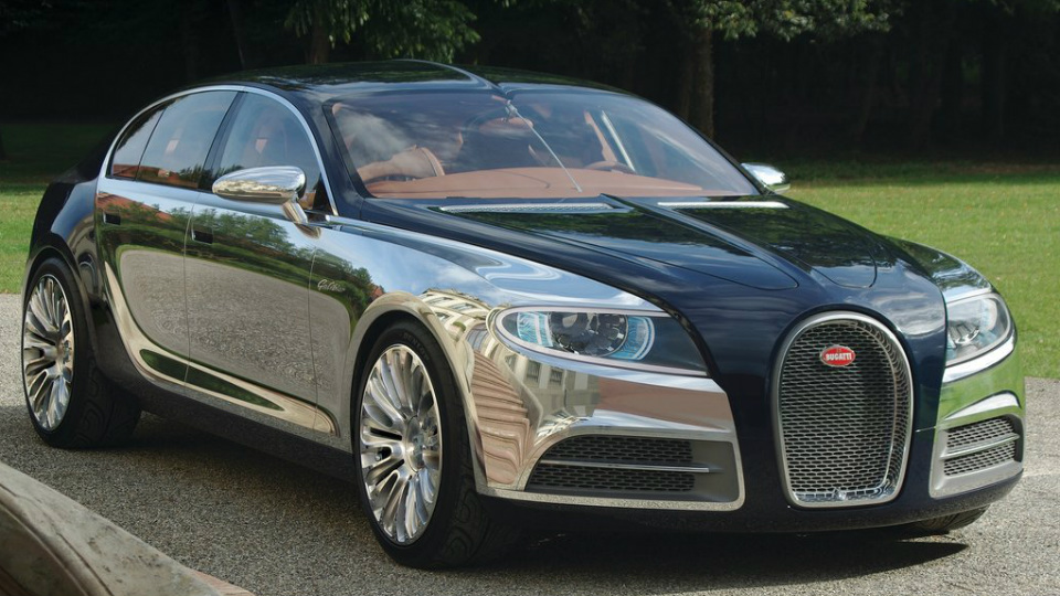 Bugatti Galibier сможет составить конкуренцию новому Rolls-Royce Phantom