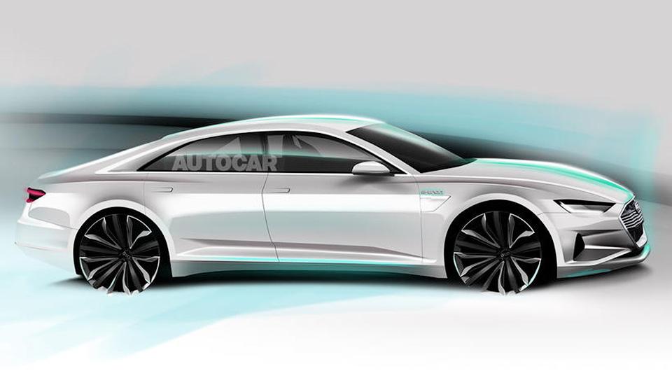 Соперник Tesla Model Sот Ауди получит название A9 e-tron