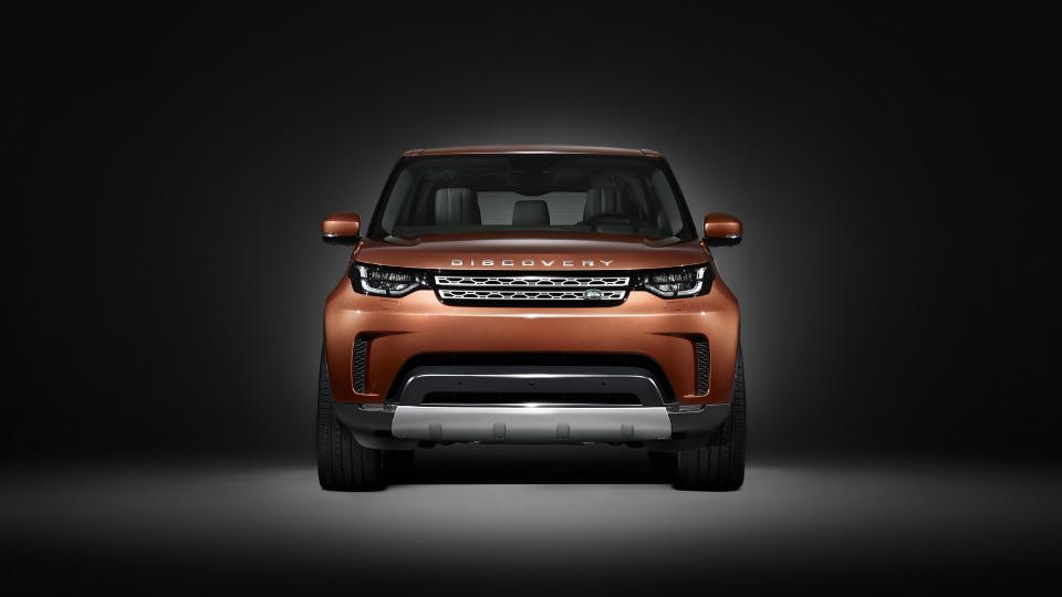 Land Rover показал дизайн нового Discovery