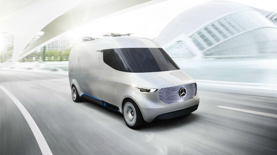 Mercedes-Benz показал коммерческий фургон будущего