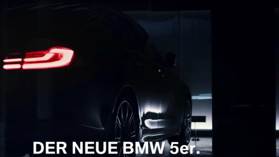 Новый БМВ 5 Series показали наофициальном видео