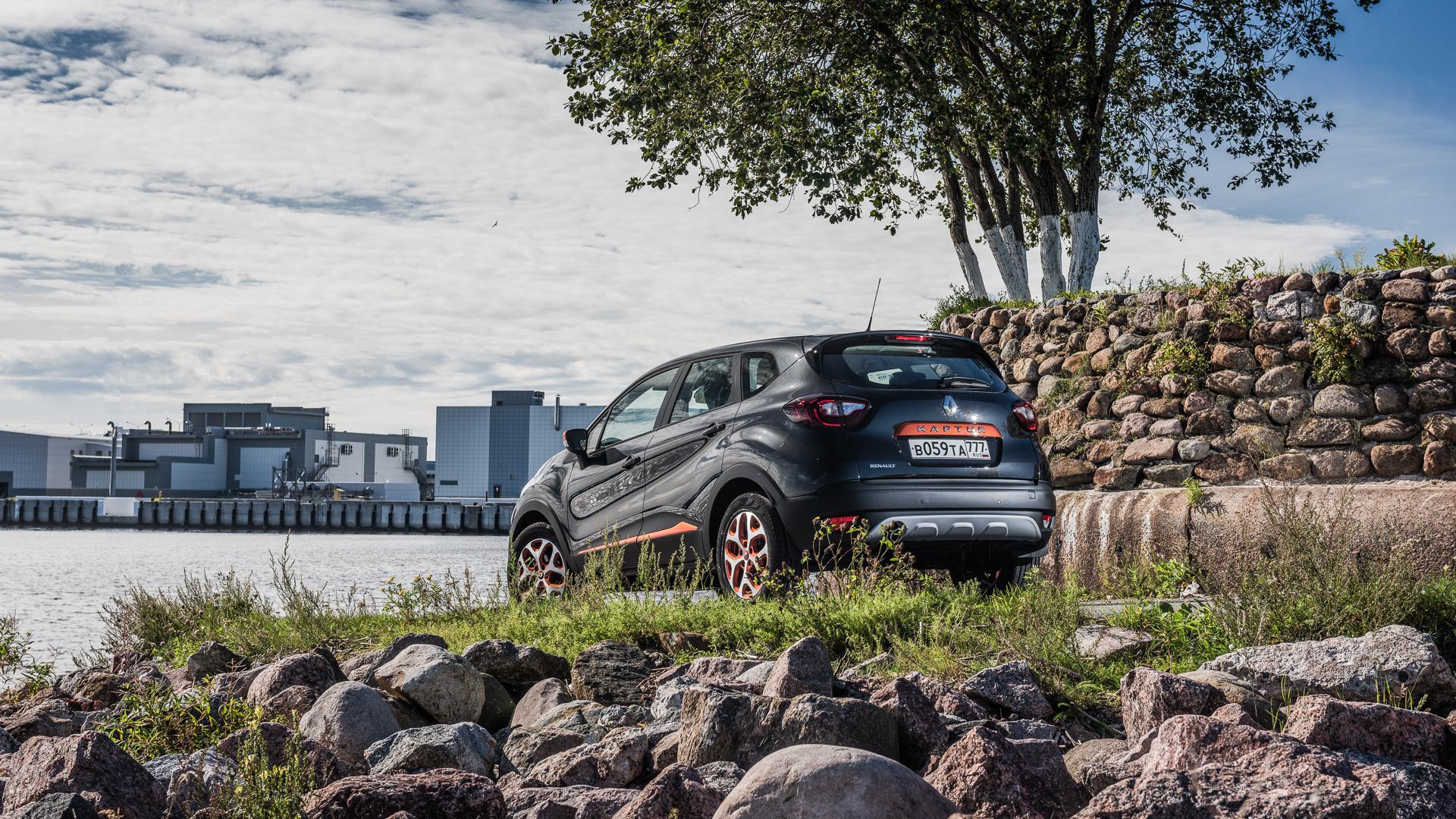 Зачем нужен икак едет Renault Kaptur свариатором. Фото 2