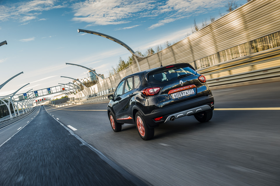 Зачем нужен икак едет Renault Kaptur свариатором. Фото 4