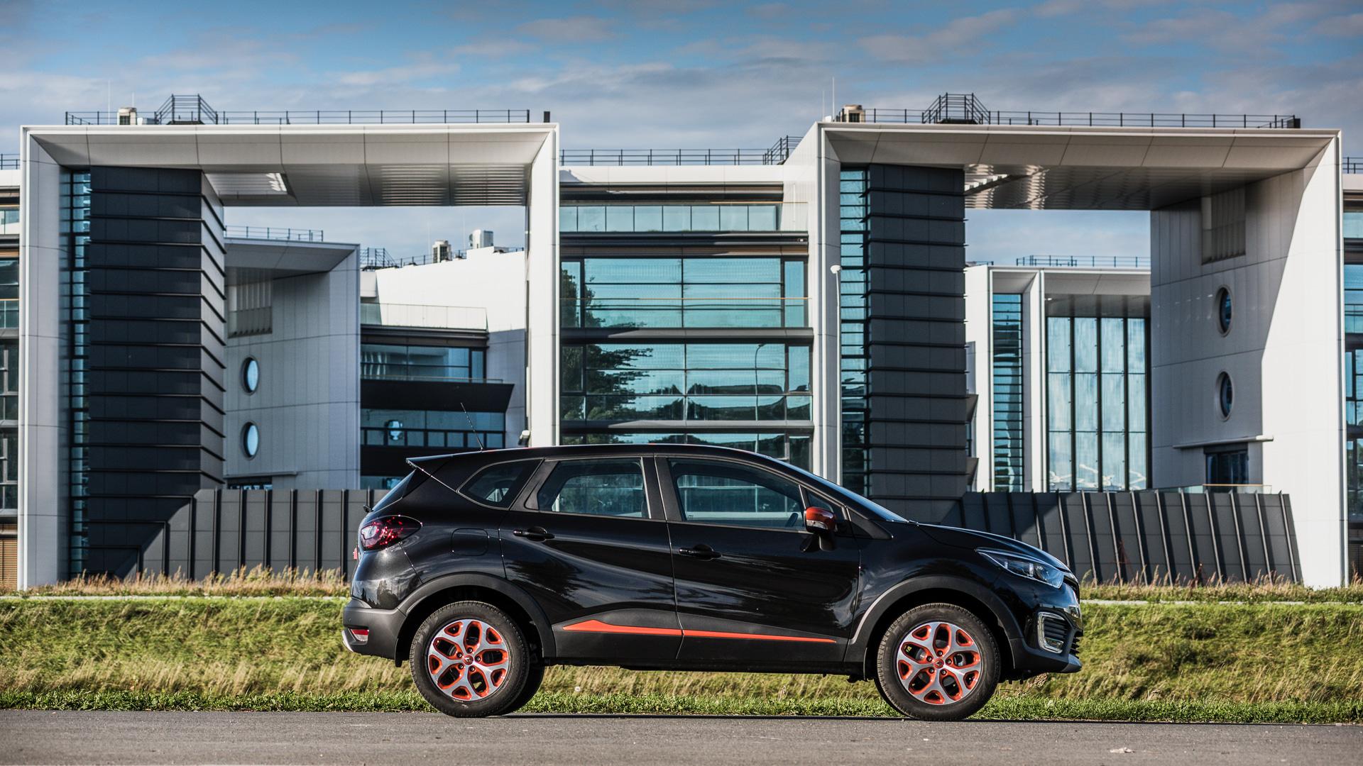 Зачем нужен икак едет Renault Kaptur свариатором. Фото 5