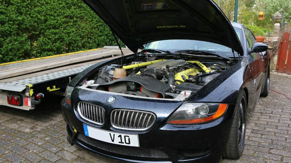 Накупе установили 8,3-литровый атмосферный агрегат V10. Фото 1