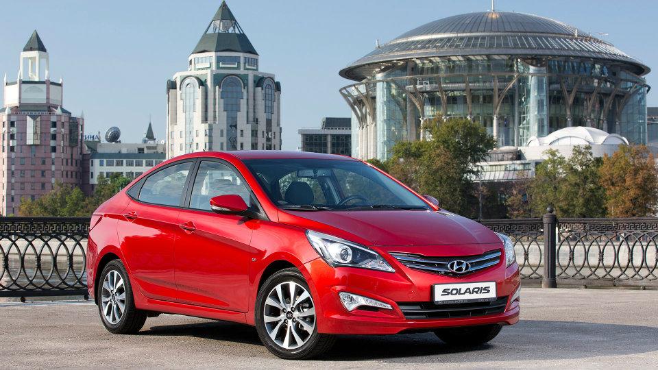 Хендай Solaris летом вновь стал наиболее популярным автомобилем столицы