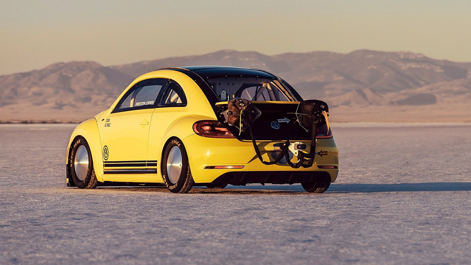 Для рекорда скорости построили 550-сильную версию модели