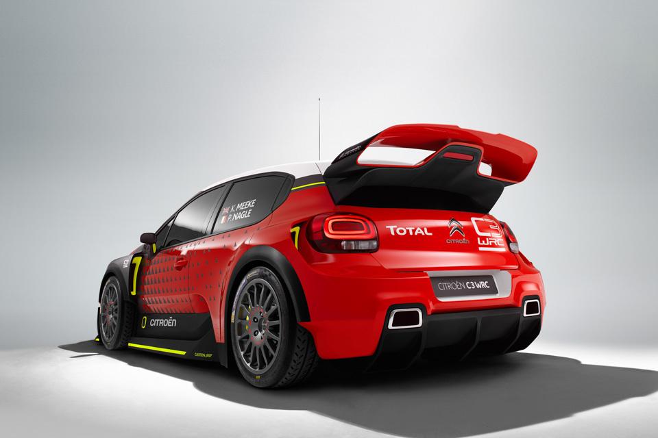 Citroen C3 WRC . Фото 8