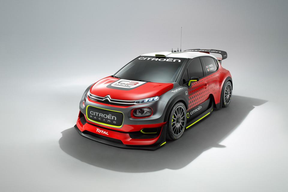 Citroen C3 WRC . Фото 3