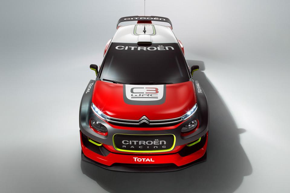 Citroen C3 WRC . Фото 6
