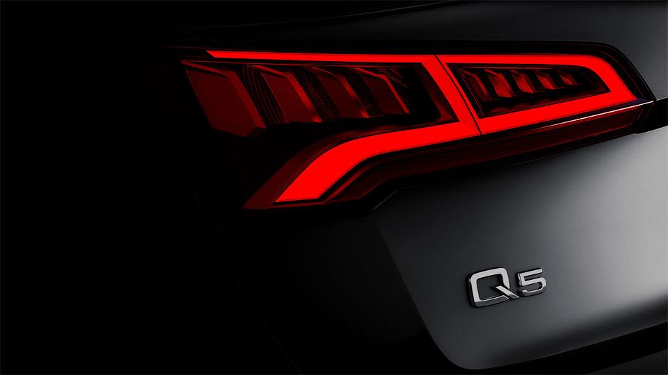 Компания Audi показала фрагмент нового Q5