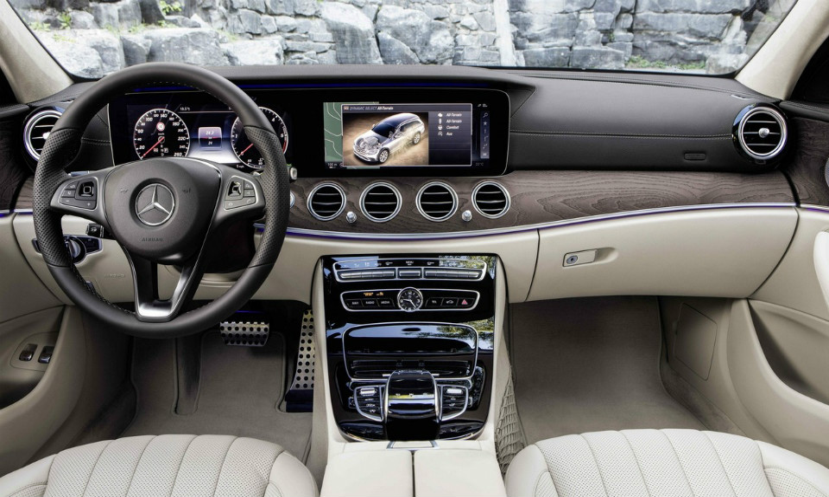 Премьера Mercedes-Benz E-Class All-Terrain состоится вПариже. Фото 2