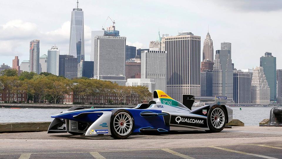 В2016 году гонки «Формулы-Е» пройдут вНью-Йорке