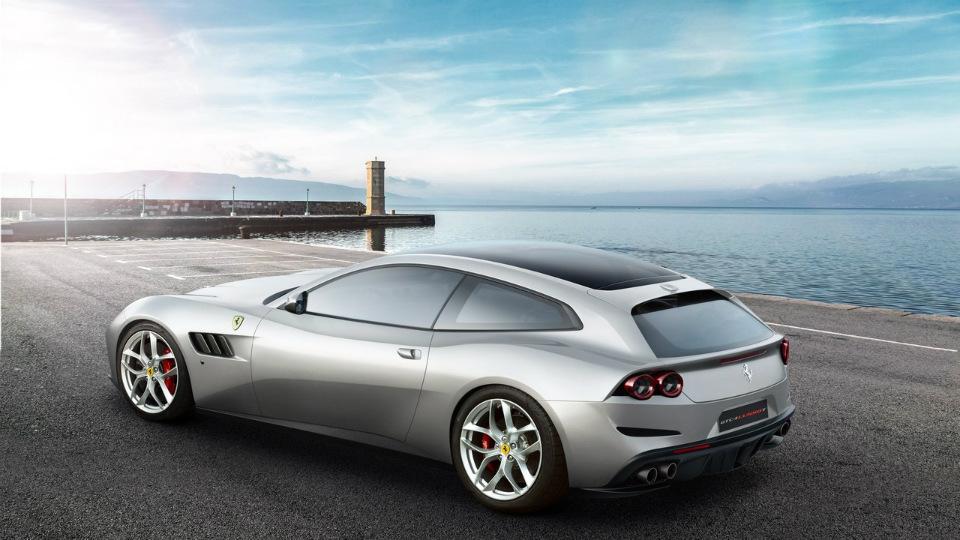 Официально представлен 610-сильный суперкар Феррари GTC4 Lusso T