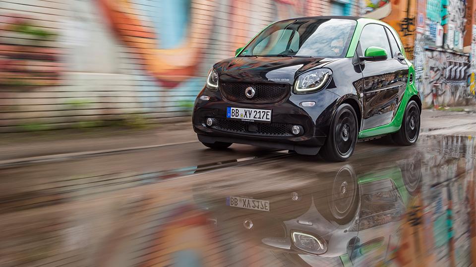 Все семейство новых автомобилей Smart перевели наэлектротягу. Фото 1