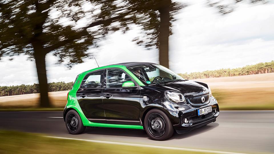 Все семейство новых автомобилей Smart перевели наэлектротягу. Фото 3