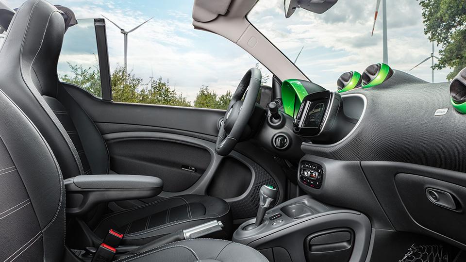 Все семейство новых автомобилей Smart перевели наэлектротягу. Фото 5