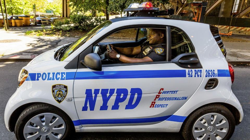 Наслужбу NYPD поступили компакт-кары Smart ForTwo. Фото 1