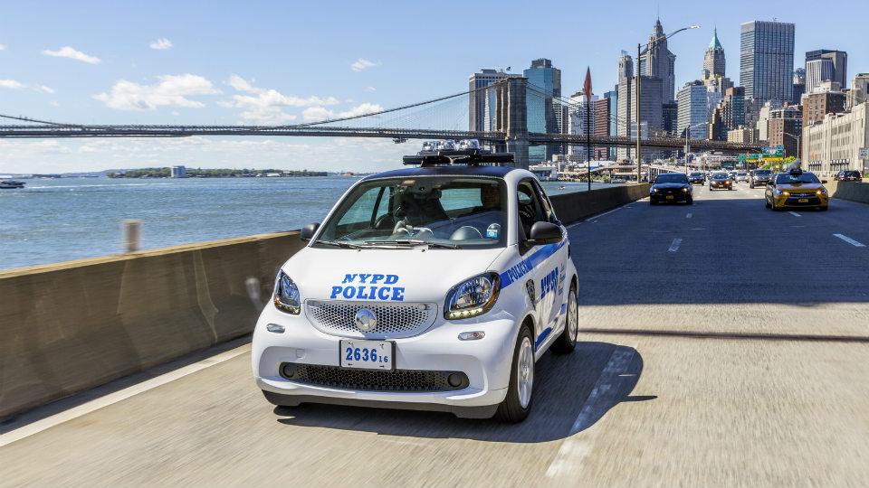 Полиция Нью-Йорка закупила 100 «Смартов»
