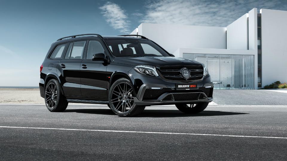Brabus добавил мощности «заряженному» Mercedes-Benz GLS
