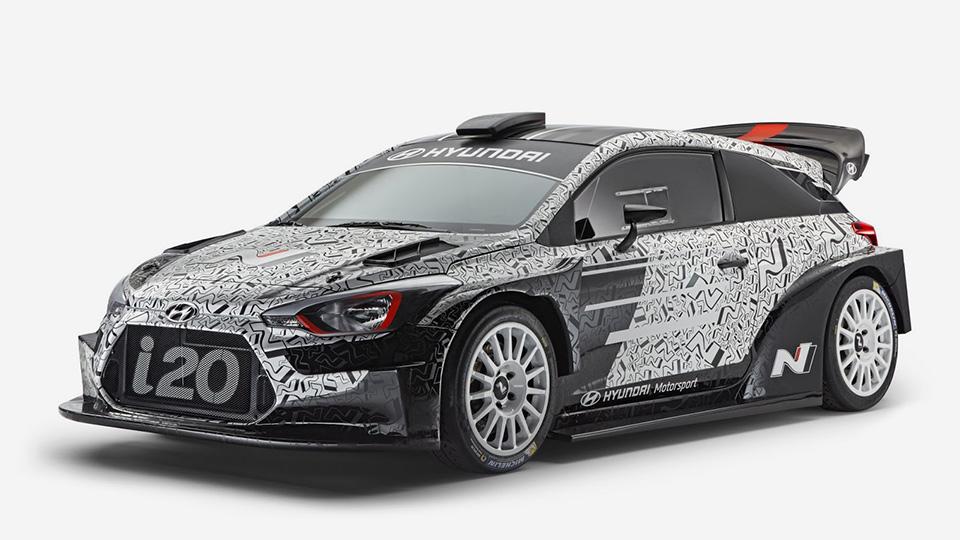 Ралли-кар Хюндай i20 WRC 2017 стал неменее осязаемым