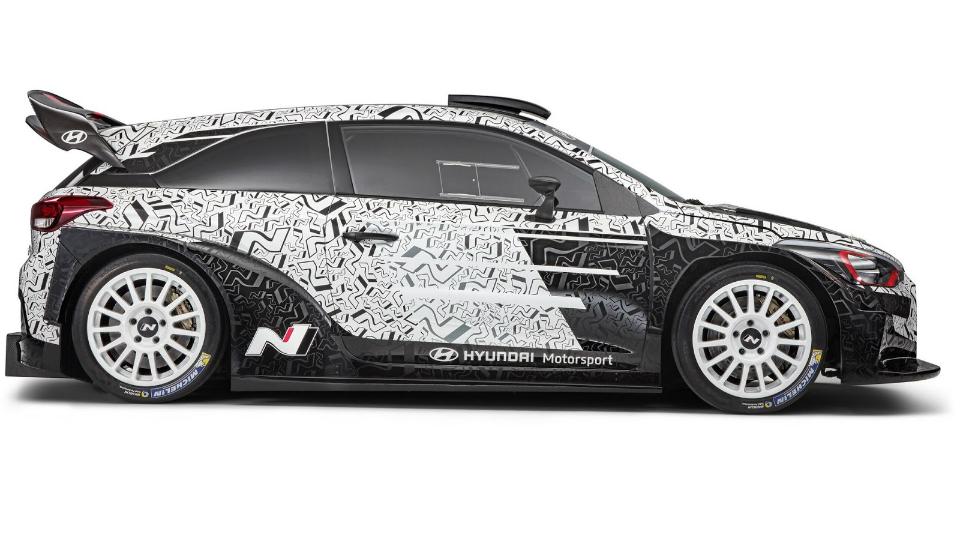 Хёндай i20 WRC 2017 презентовали публике