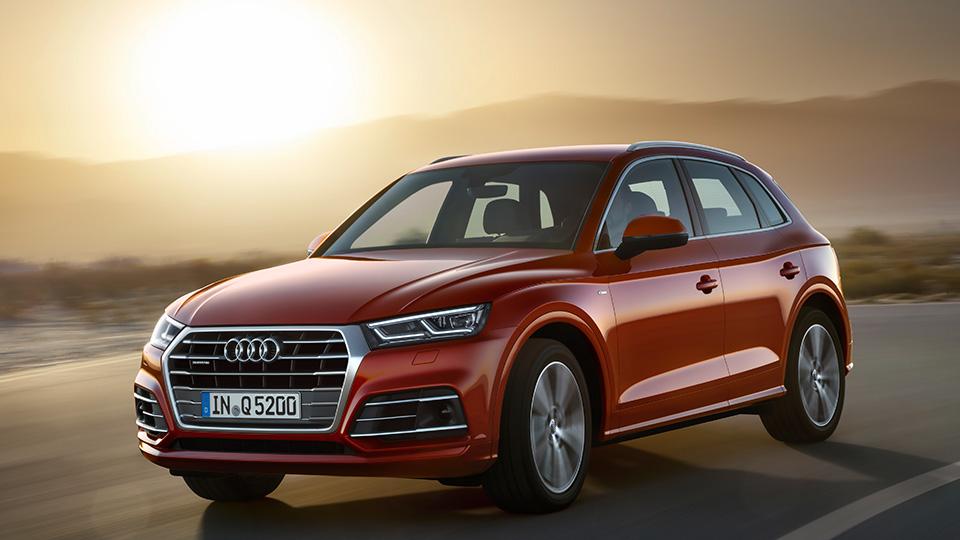 Кроссовер Audi Q5 стал на90 килограммов легче
