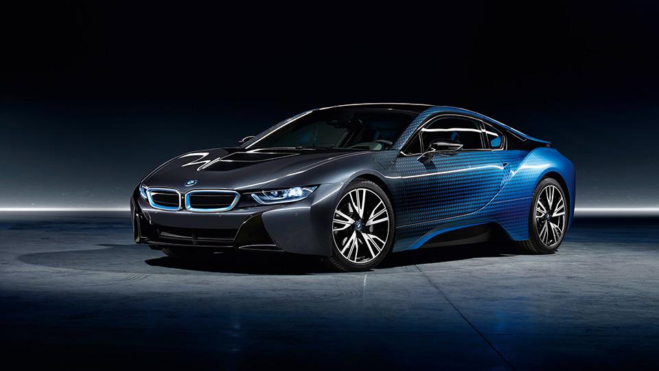 Немцы представили созданные совместно сGarage Italia Customs версии i8 иi3