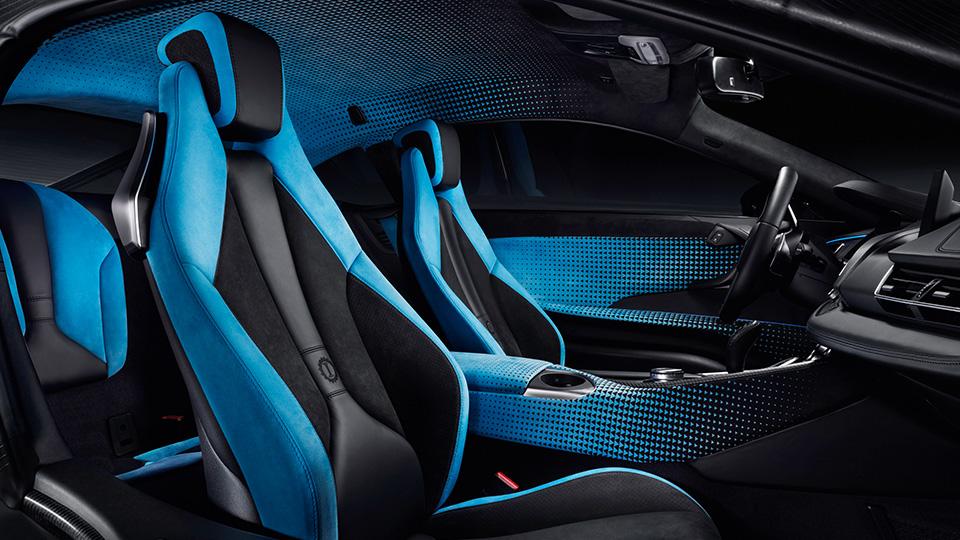 Немцы представили созданные совместно сGarage Italia Customs версии i8 иi3. Фото 2