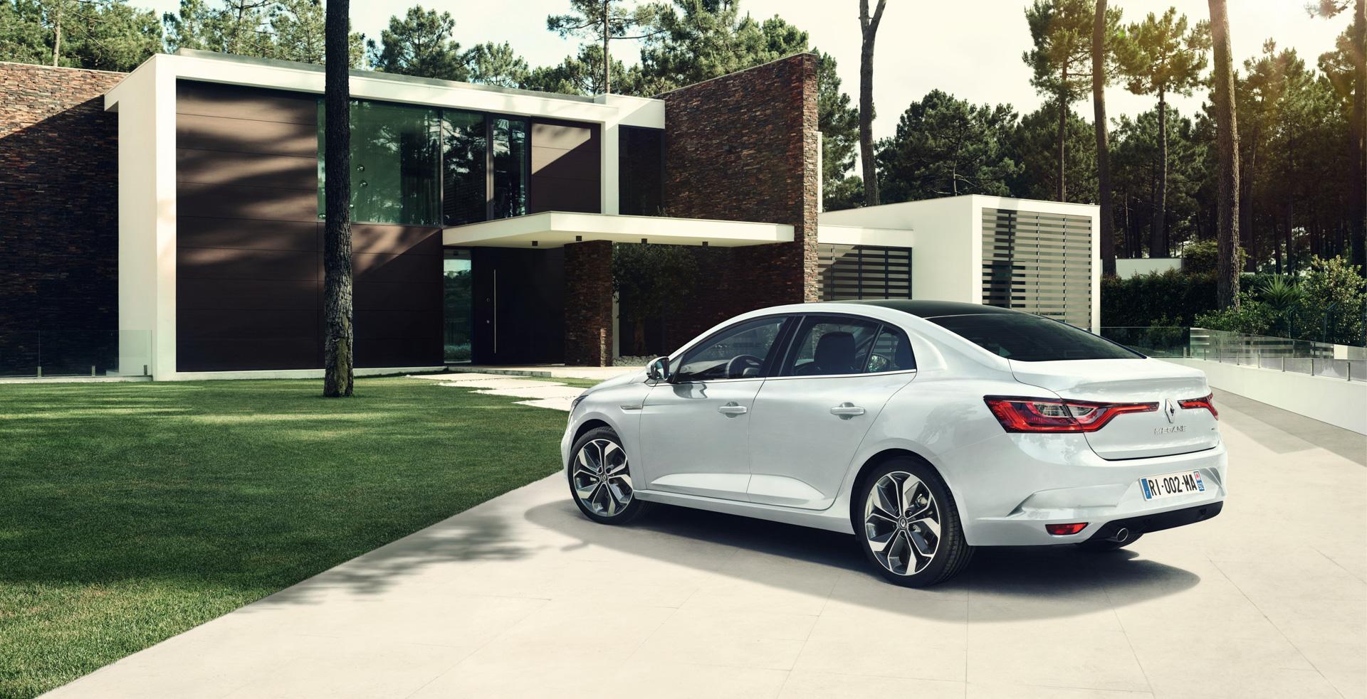 Пять фактов оновом седане Renault. Фото 2