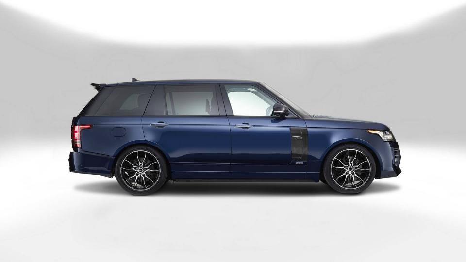Ателье Overfinch создало «сверхроскошный» внедорожник Range Rover Autobiography