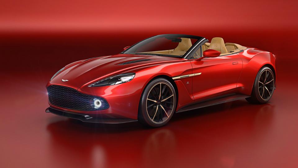 СМИ узнали стоимость открытой версии Aston Martin Vanquish отZagato