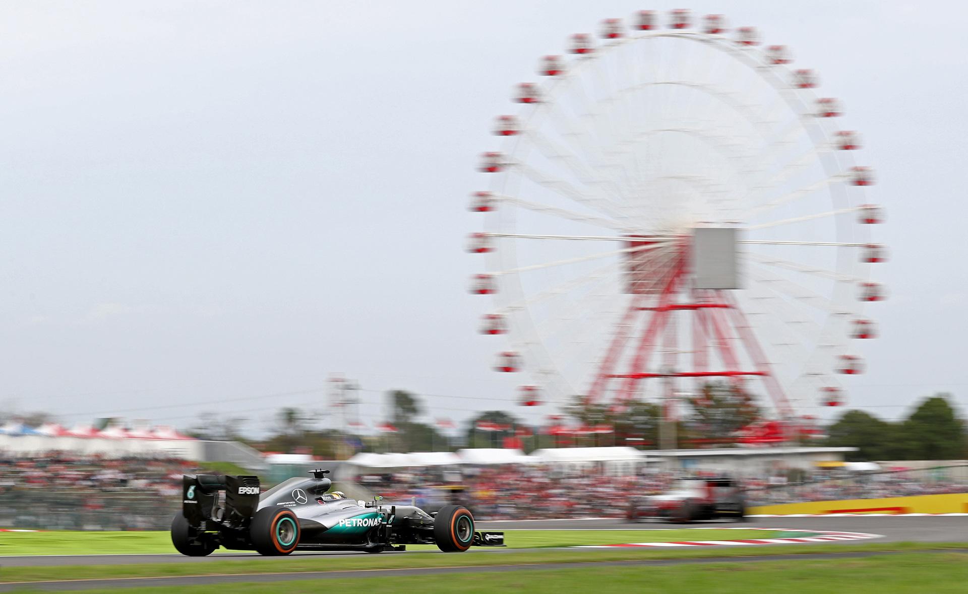 Безупречный Росберг, нервные чемпионы идругие события Гран-при Японии. Фото 4