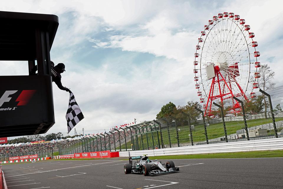 Безупречный Росберг, нервные чемпионы идругие события Гран-при Японии. Фото 14