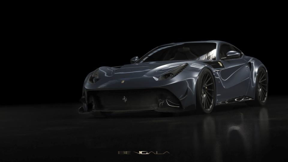 Испанское дизайн-ателье представило Феррари F12 Caballeria