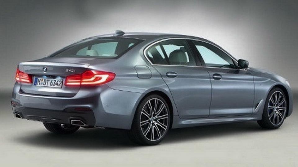 Появились первые официальные фотографии седана BMW 5-Series нового поколения