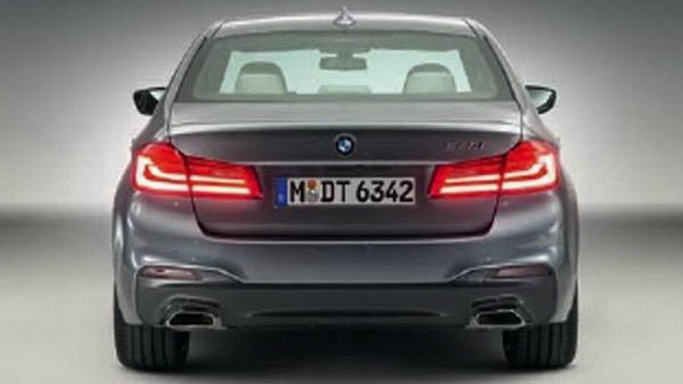 Появились первые официальные фотографии седана BMW 5-Series нового поколения. Фото 1